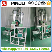 commercial small automatic 10 ton per day indian corn wheat cassava flour milling machine manufacturer
