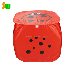 Household Essential Sturdy Modern square Folding laundry basket
