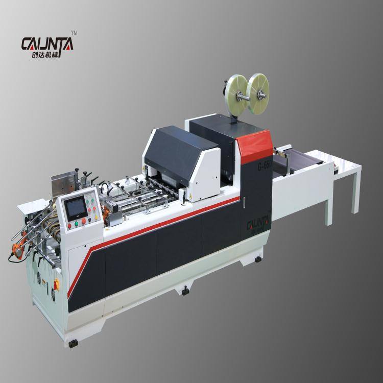 G-650 volautomatische golfkarton papier doos venster patchen machine in china prijs