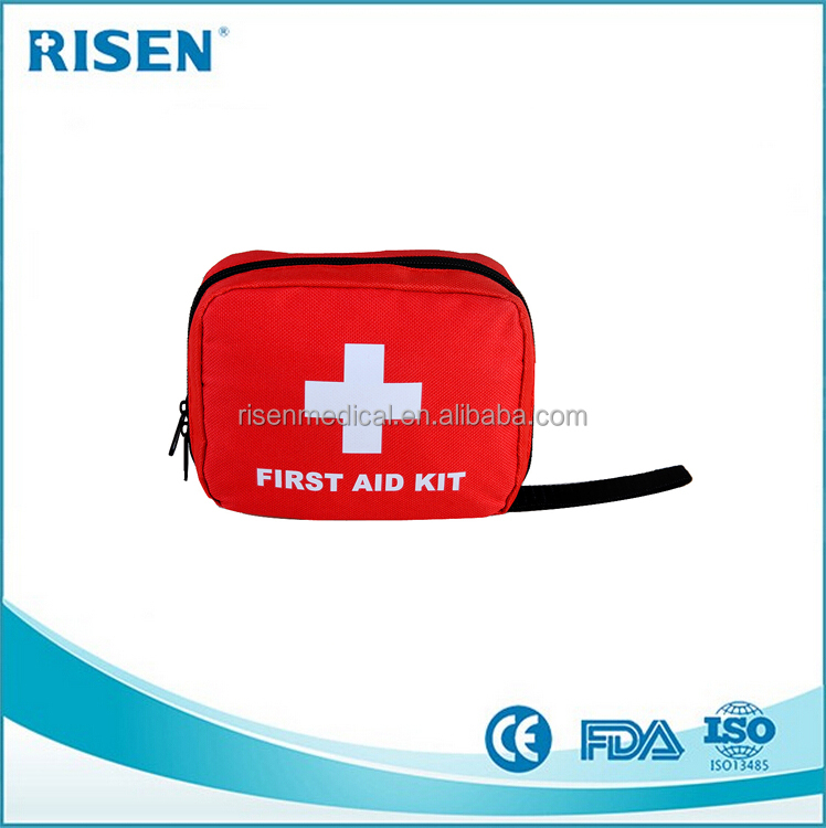 2017 factory price medical pouch / mini first aid kit / sport kit