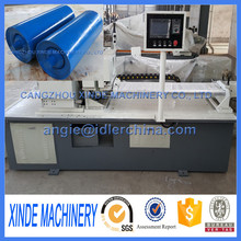 China high efficient automatic conveyor roller making machine/cutting machine/welding machine/turning machine