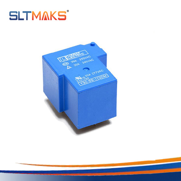 Electromagnetic power relay CQC UL TUV 1a no spst 4 pin 30a 12v Relay box