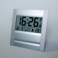 World Time Zones Clock,Fashion Wall Clock, Electric DCF Wall Clock