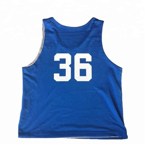 Athletic Pinnies Reversible Training Lacrosse, Soccer, Football Sports Jersey Training Scrimmage Vests