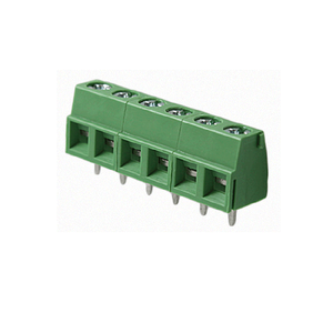 Unizen EU type Screw PCB Terminal Block Pitch 5.0mm(5.08mm) TUV CE