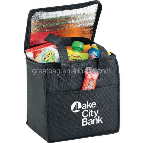 Promotion Non Woven Kids Picnic Cool Bag Insulated Cooler Bag Lunch