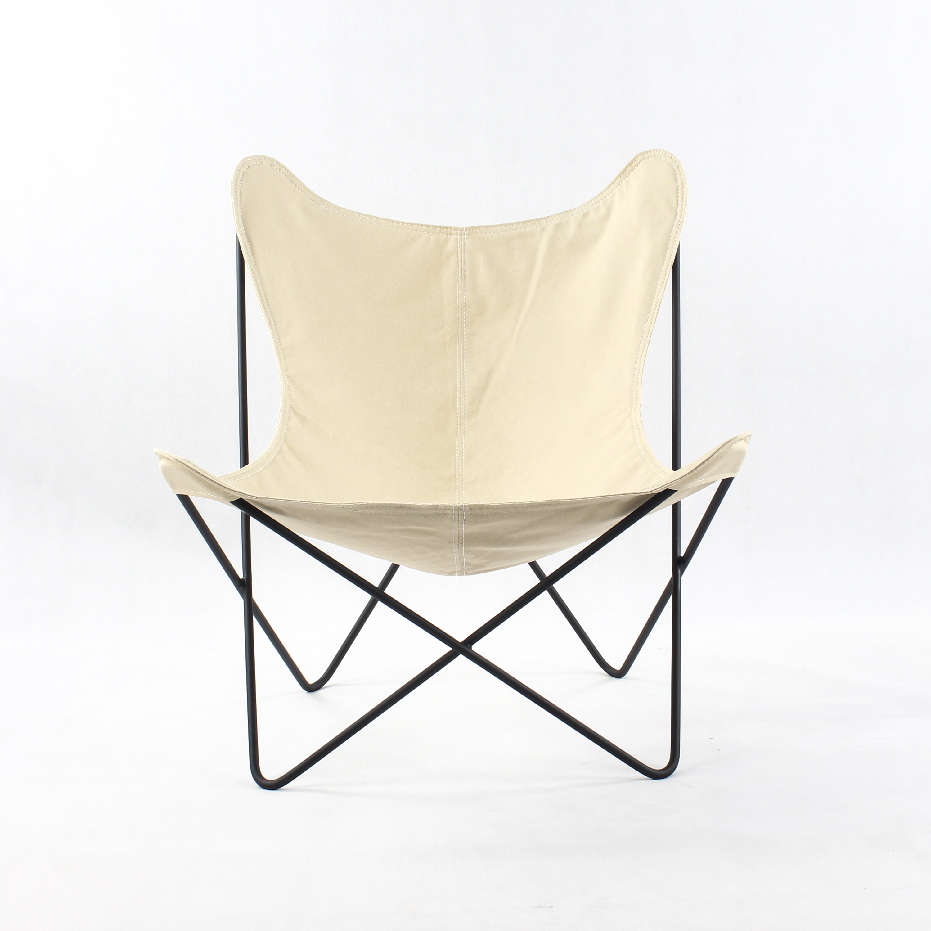 Brilliant Bkf Butterfly Chair With White Canvas Ca083 Buy Bkf Butterfly Chair Bkf Chair Butterfly Chair White Canvas Product On Alibaba Com Ncnpc Chair Design For Home Ncnpcorg
