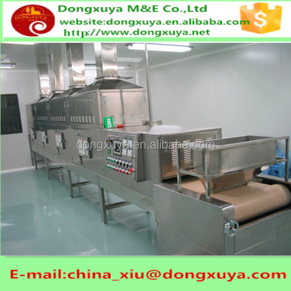 industrial microwave oven for drying/sterilizing copper carbonate-Dongxuya