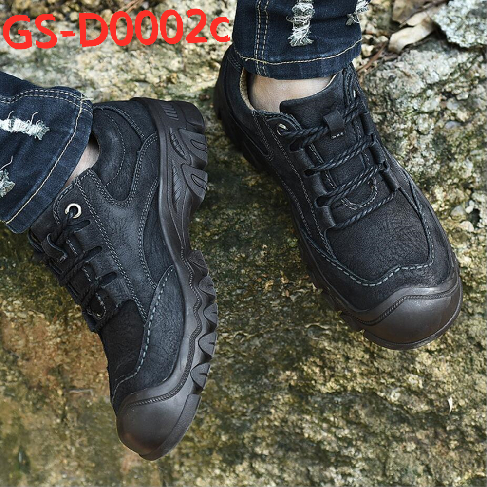 Sports & leisure genuine leather hiking climbing shoes GS-D0002
