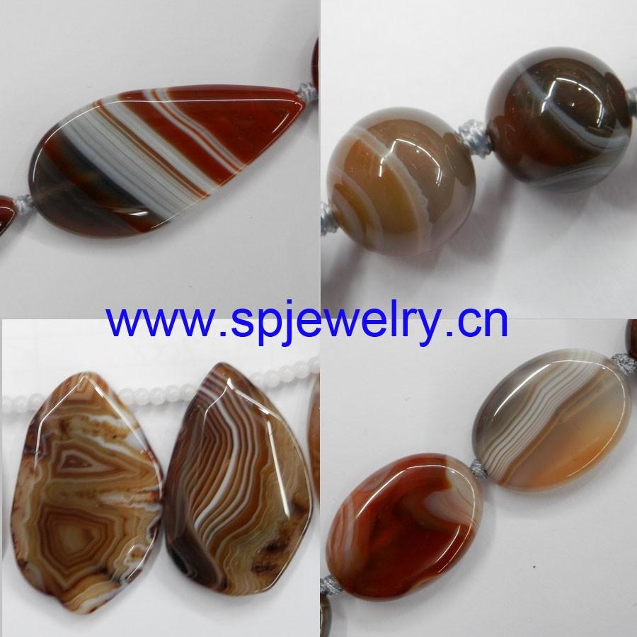 Aqeeq / Agate Gemstones Stones,Round 6-14mm