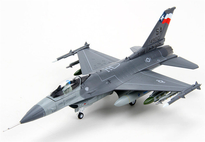 1:72 scale alloy airplane moedel F16 alloy aircraft military model for business gift
