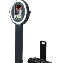 Magic mirror photo booth verstelbare licht ipad model photo booth,