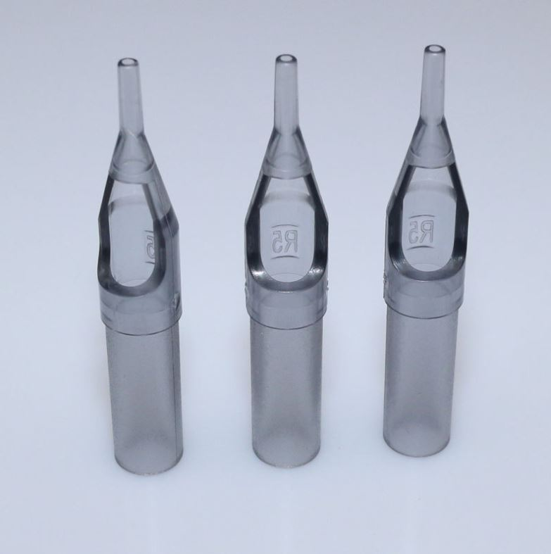 2019 wholesale transparent grey disposable tattoo tip