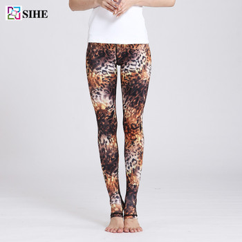 af087d9854f9 Hot Selling Women Fitness Sexy Leopard Girl Yoga Pants Sports - Buy ...