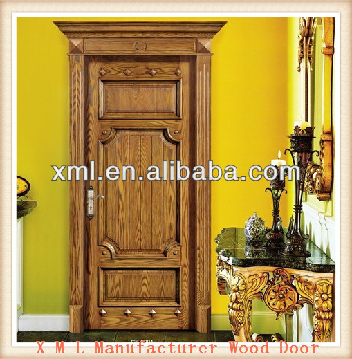 Usa New Fashion Design Hand Carved Wood Grain Finished Oak Solid Wooden Door In China - Buy Hand Carved Oak Wooden DoorSolid Wooden DoorWood Door Product ... & Usa New Fashion Design Hand Carved Wood Grain Finished Oak Solid ...