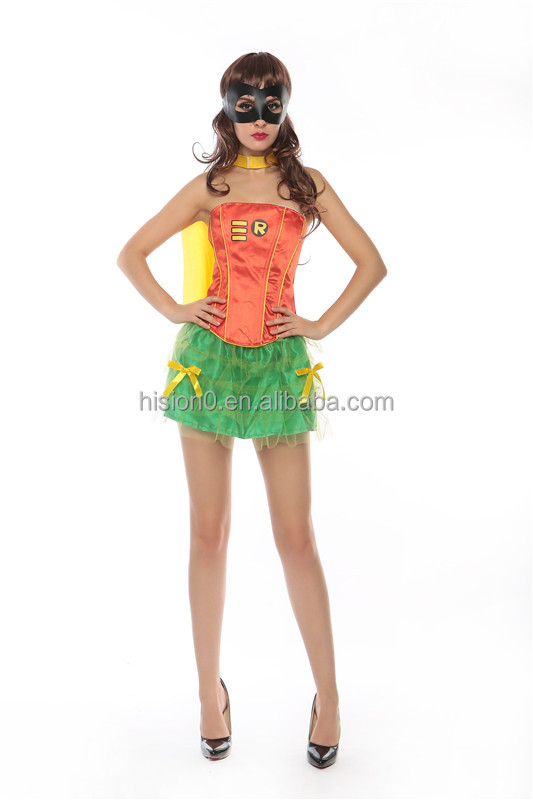 Fresh Style Cool Halloween Costume Set with Shawl Hero Cosplay Lingerie Queen Style Costume Set