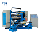 High speed plastic roll PET film slitting and rewinding machine
