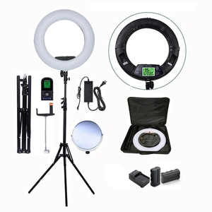 Freshphoto dimmable selfie led light photography fill ring flash light for mirror photo booth