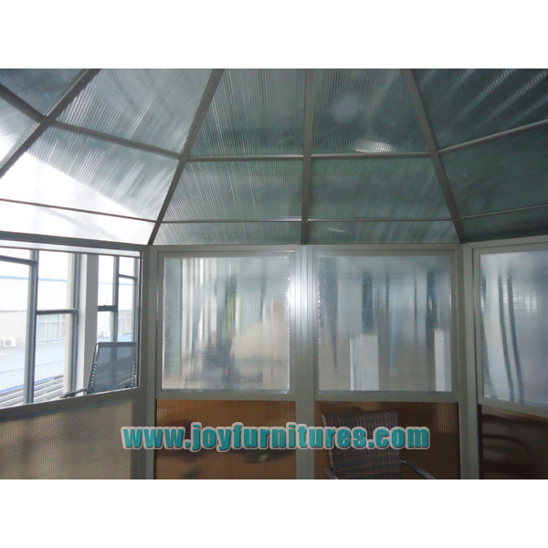 Plexiglass Outdoor Patio Gazebo
