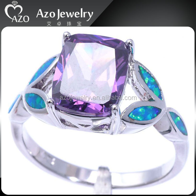 2015 Cute 925 Sterling Silver Blue Opal Dolphin Ring With ...