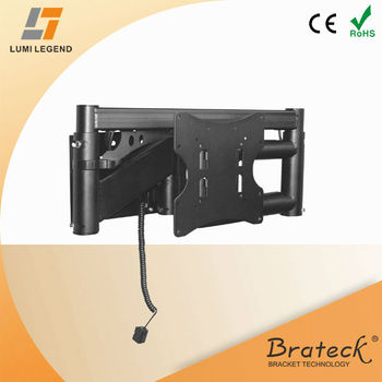 Remote control electric tv wall mount