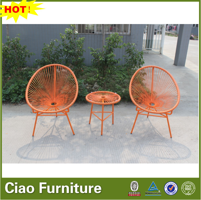 Colorful Outdoor Furniture Wicker Shaped Egg Chair