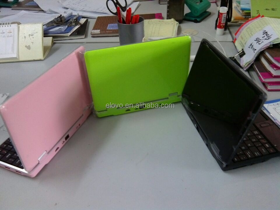 Super thin 7inch gaming laptop colored high quality low price laptop 800*480