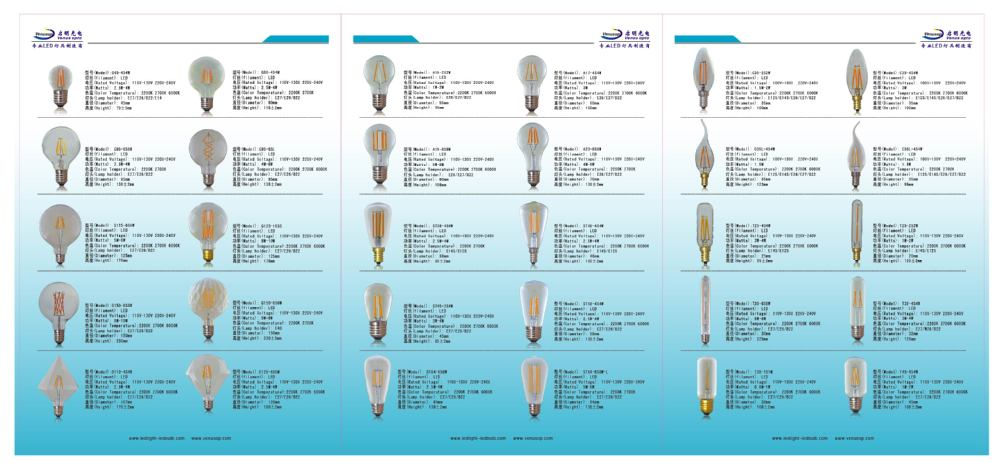 High Lumen E27 B22 Filament Led Bulb 6w 8w 10w T30 Tubular Led ...