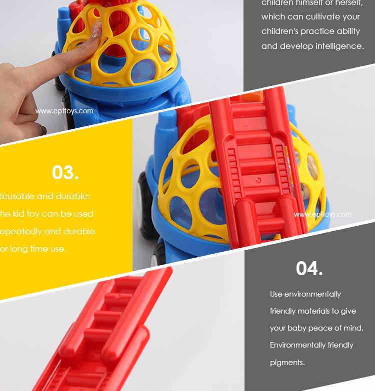 2019 Latest Baby Soft Car Rotate ladder Free Wheel Car Toy
