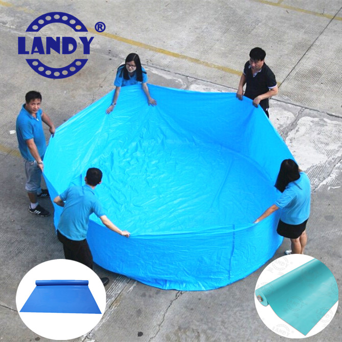 Economical and practical above ground pool overlap liner