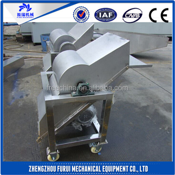 CE approved ice crusher/ice grinding machine
