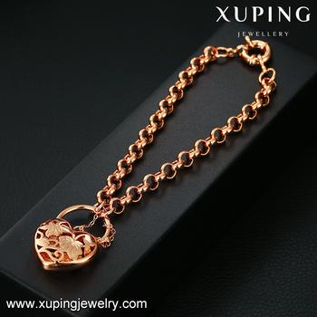 Chine en gros de mode bracelet, xuping bijoux bracelet en or, or de mode