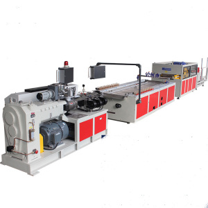 PVC Kitchen cabinet Aluminum Skirting Board Plinth Profile Making Extrusion Machines