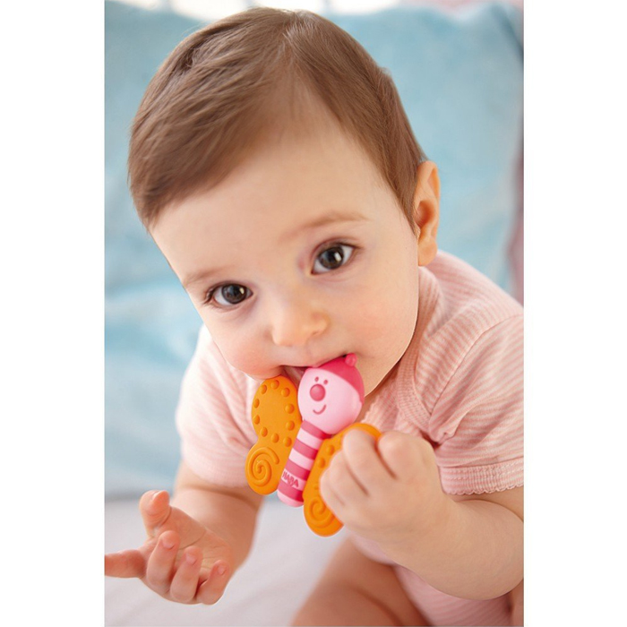 Cute Animal Shape Food Grade Baby Silicone Teether