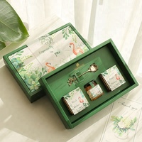 Sweet Foldable Wedding Favor Paper Gift Box with Sleeve
