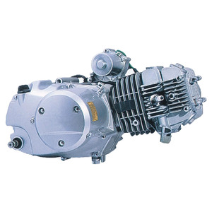110cc Motorcycle Engine Single Cylinder 4 Stroke Air Cool Engine with  Reverse Gear Engine Assembly for ATV Pit Dirt Bikes