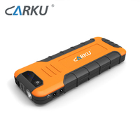 CARKU new model 18000mAh car jump starter quick charger multi-function vehicle power bank jump starter