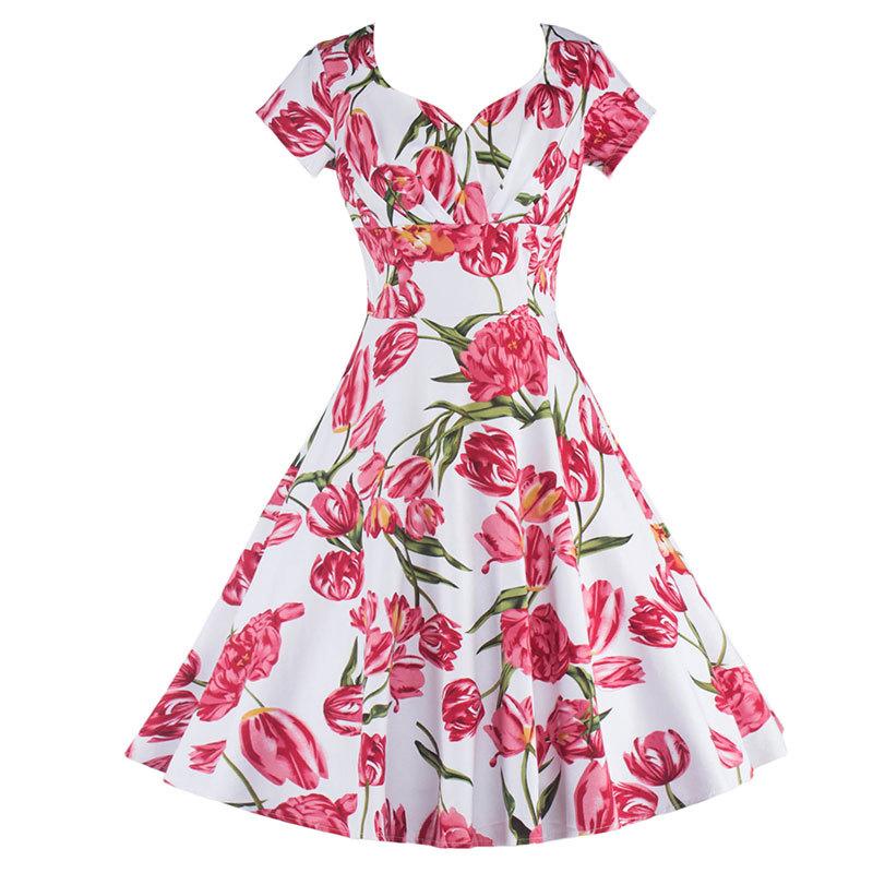 Venta al por mayor vestidos de fiesta cortos vintage-Compre online ...