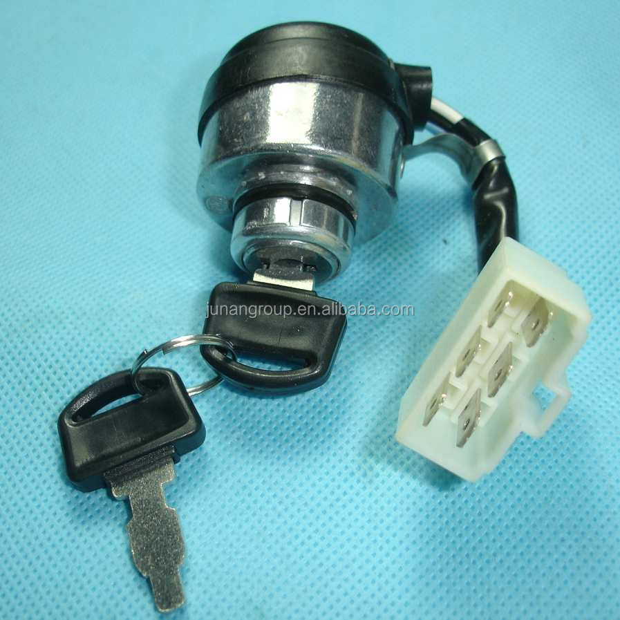 6 Wire 5kw 6kw 7kw Ignition Switch Key For Gasoline Generator Atv 4 Wiring Diagram Halley Buy Wires Switchgenerator Switch5kw