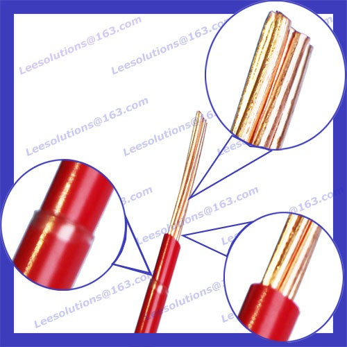 Thhn Single Copper Wire 1.5mm Solid Wire Electrical Nylon Cable ...