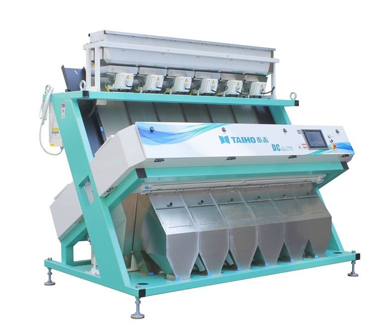 CCD Plastic Flakes pieces Quartz sand Color sorter