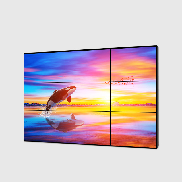46 inch 2x2 3,5mm LCD video wand