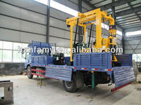 truck mounted drilling rig for big diameter and depth hole's drilling