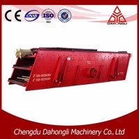 Portable crushing plant aggregate screening equipment