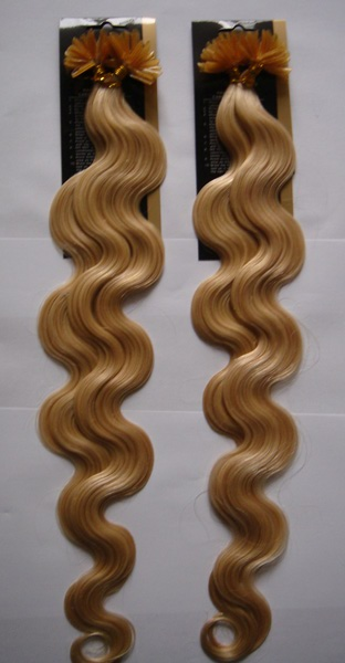 Europe/USA Quality Wholesale Ombre T color Italian Keratin Pre-bonded U/I/Flat tip human hair extension