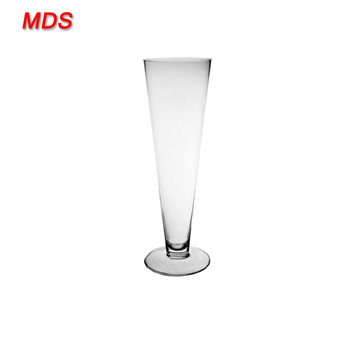 Cheap Clear Reversible Trumpet Shaped Glass Cylinder Vases Buy