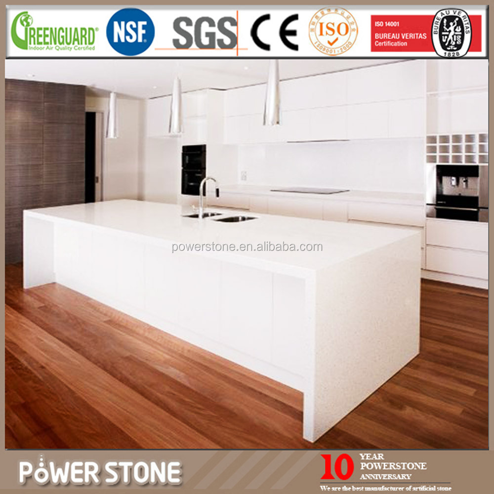Chinese Cheap Artificial Stone Blue Quartz Countertops for Sale