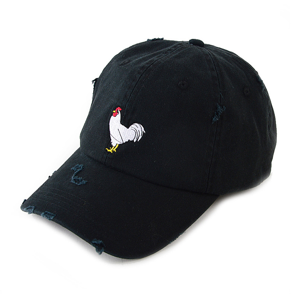 100%cotton Cock Baseball Cap Cock Hat fcaf77993586