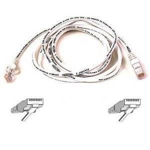 "Belkin, Patch Cable Rj-45 (M) Rj-45 (M) 10 Ft Cat 5E White B2b For Omniview Smb 1X16, Smb 1X8, Omniview Ip 5000Hq, Omniview Smb Cat5 Kvm Switch ""Product Category: Supplies & Accessories/Network Cables"""