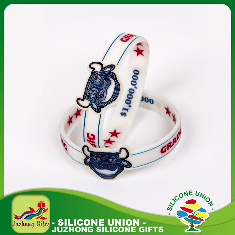 Different kinds rubber corporate gifts festival gift custom bracelet